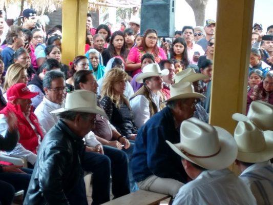 Claudia Pavlovich se reúne con gobernadores Yaquis