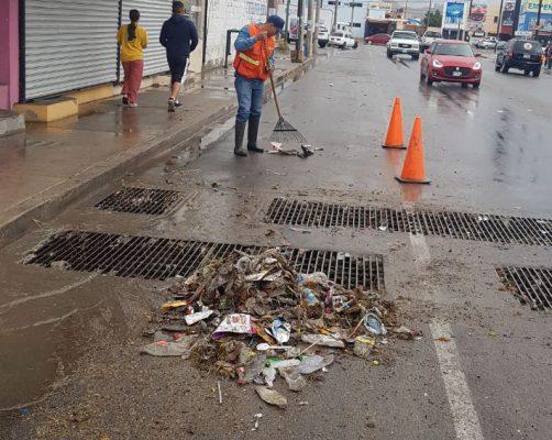Sin daños mayores por lluvias en Hermosillo