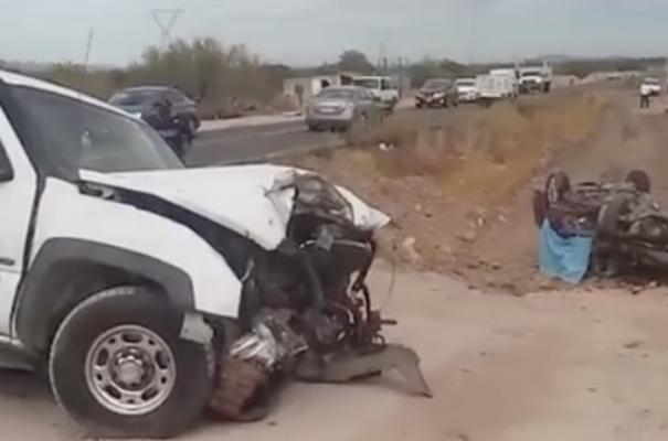 Muere joven de 22 años en accidente carretero tramo Hermosillo-Guaymas
