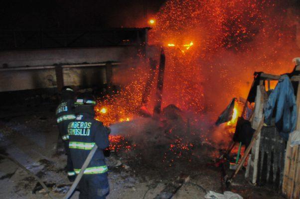 Registran 22 incendios de viviendas en esta temporada decembrina
