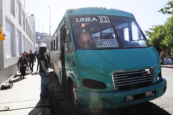 Disminuirán el servicio de transporte en la ciudad