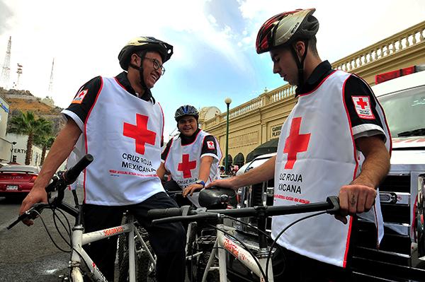 Cuida Cruz Roja el centro de Hermosillo