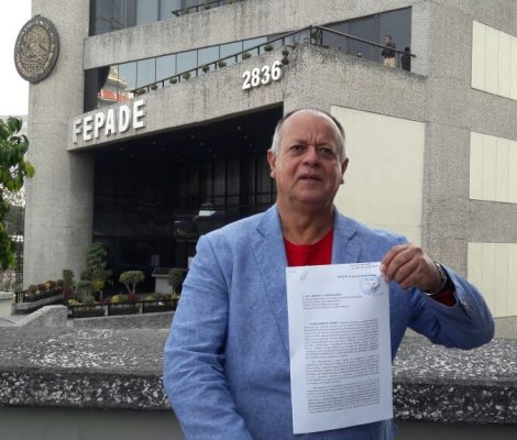 Presenta el PT Sonora queja en contra de la PGR por caso Padrés