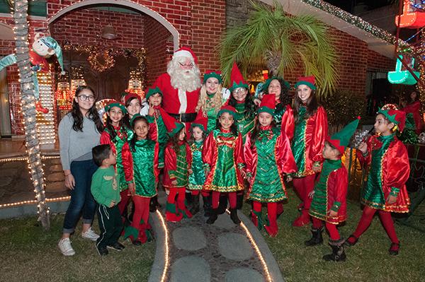 [Galería] Santa ya llegó a su casa en Hermosillo