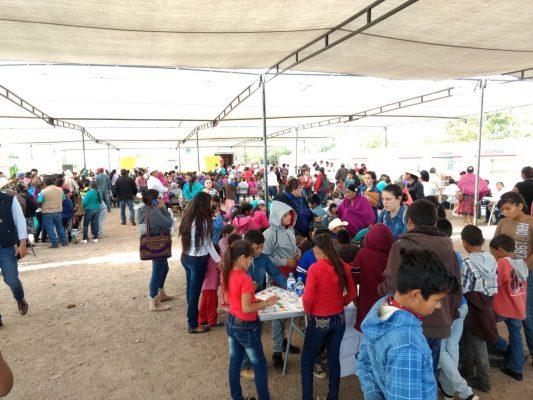 Llevan jornada comunitaria a Loma de Guamuchil