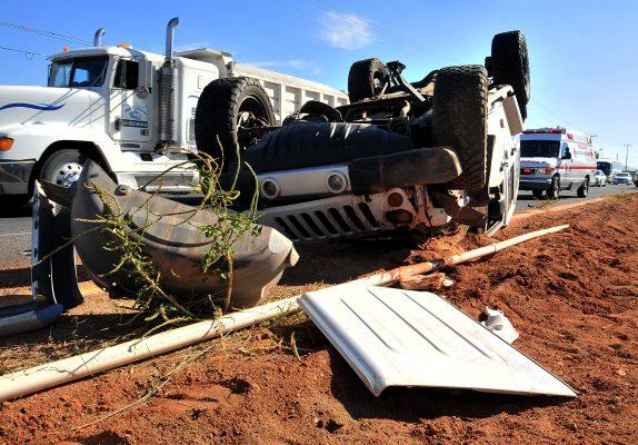 Accidente carretero deja un fallecido