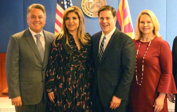 Destaca Gobernadora colaboración con Arizona