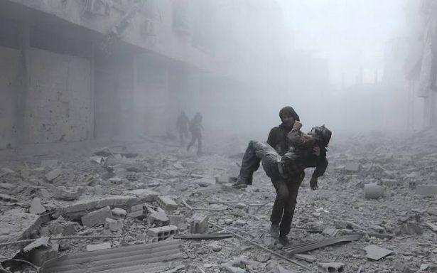 Bombardeos rusos dejan 23 civiles muertos cerca de Damasco