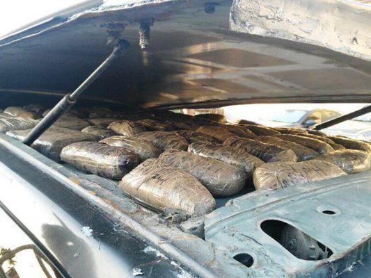 Aseguran droga valorada en 320 mil dólares en frontera de Nogales