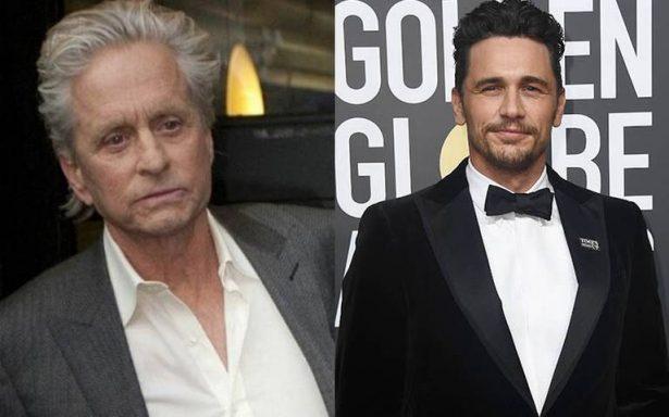 Michael Douglas y James Franco niegan acusaciones sobre acoso sexual