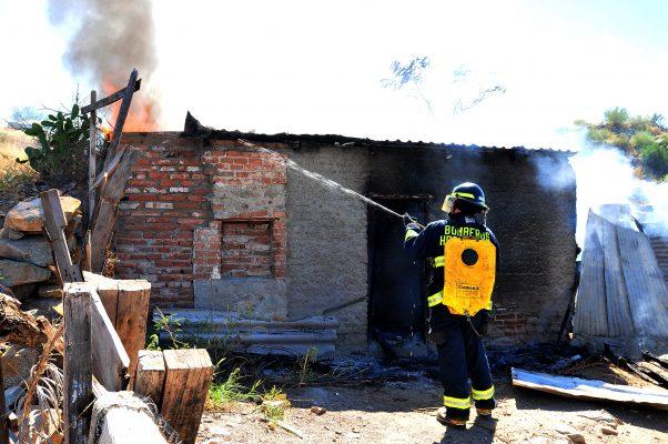 Registran 757 incendios en viviendas durante 2017