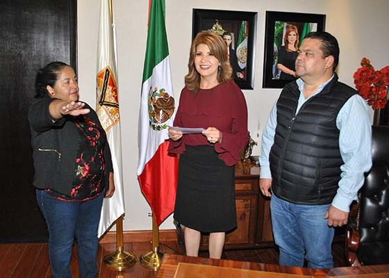Eligen en El Choyudo a Irma Ávalos de delegada