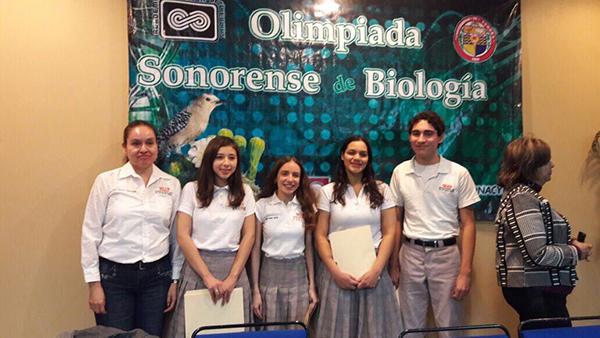 Alumnos del Cobach irán a Olimpiada de Biología