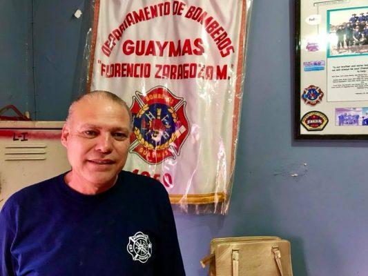Muere comandante de Bomberos en Guaymas, Sonora