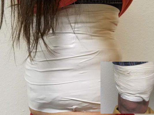 Detienen a adolescentes con metanfetamina en aduana de San Luis