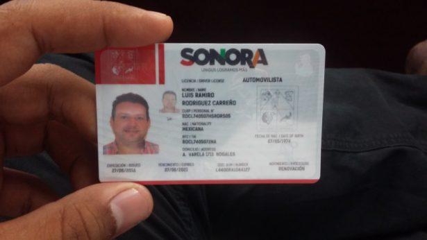 Aumentan costos de licencias para conducir en Sonora
