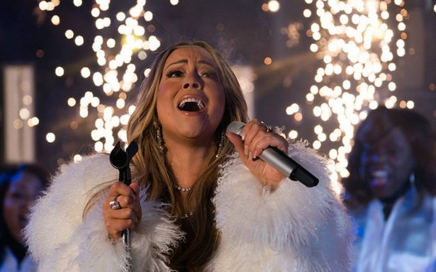 Mariah Carey deja atrás la mala racha; triunfa en fiesta de Año Nuevo en Times Square