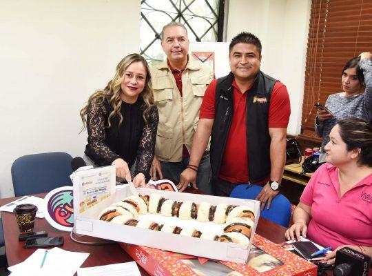 Invitan a degustar la rosca de reyes más grande de Hermosillo
