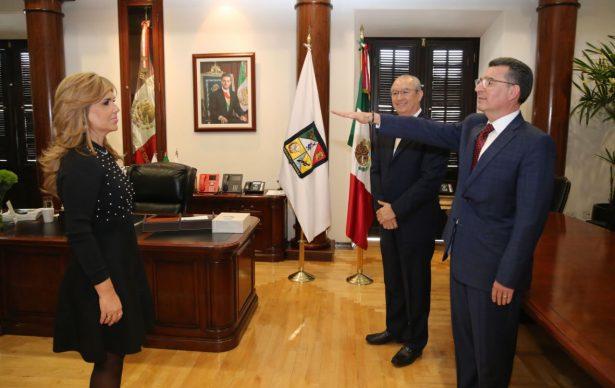 Reconoce Gobernadora a Gilberto Ungson Beltrán por trabajo