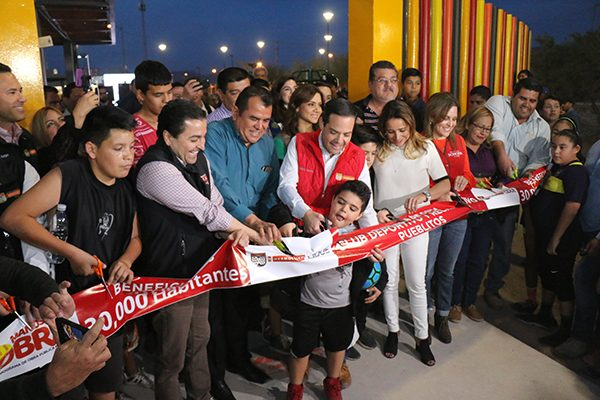 Inauguran parque reconstruido en la colonia Pueblitos