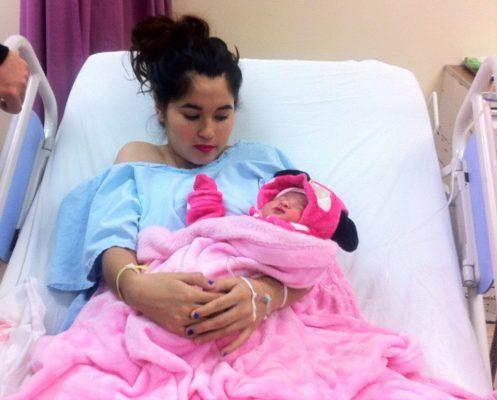 Nacen primeras bebés 2018