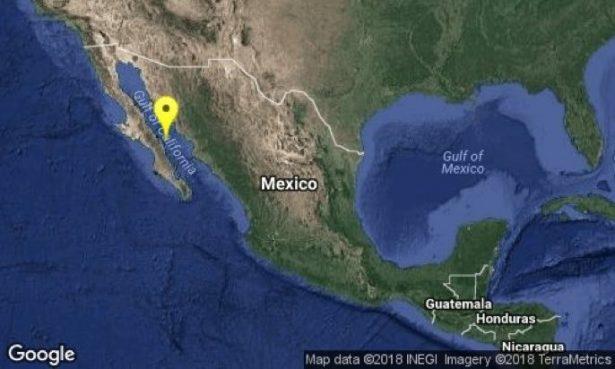 Registra sismo de 6.3 en Loreto, Baja California: Se siente en ciudad Obregón