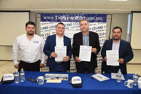 Firman acuerdo Gobierno municipal y Universidad Ceuno