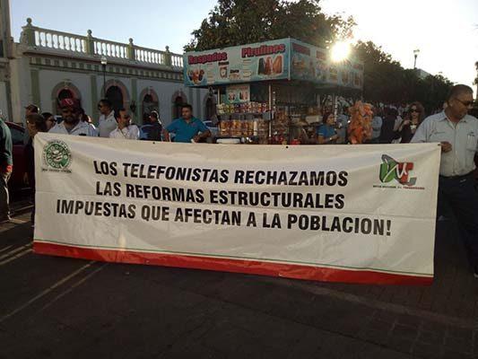Alzan la voz con la CNTE