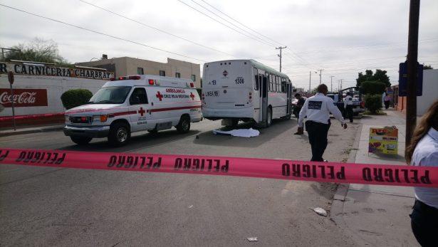 Mujer muere arrollada por un camión en la colonia Misión