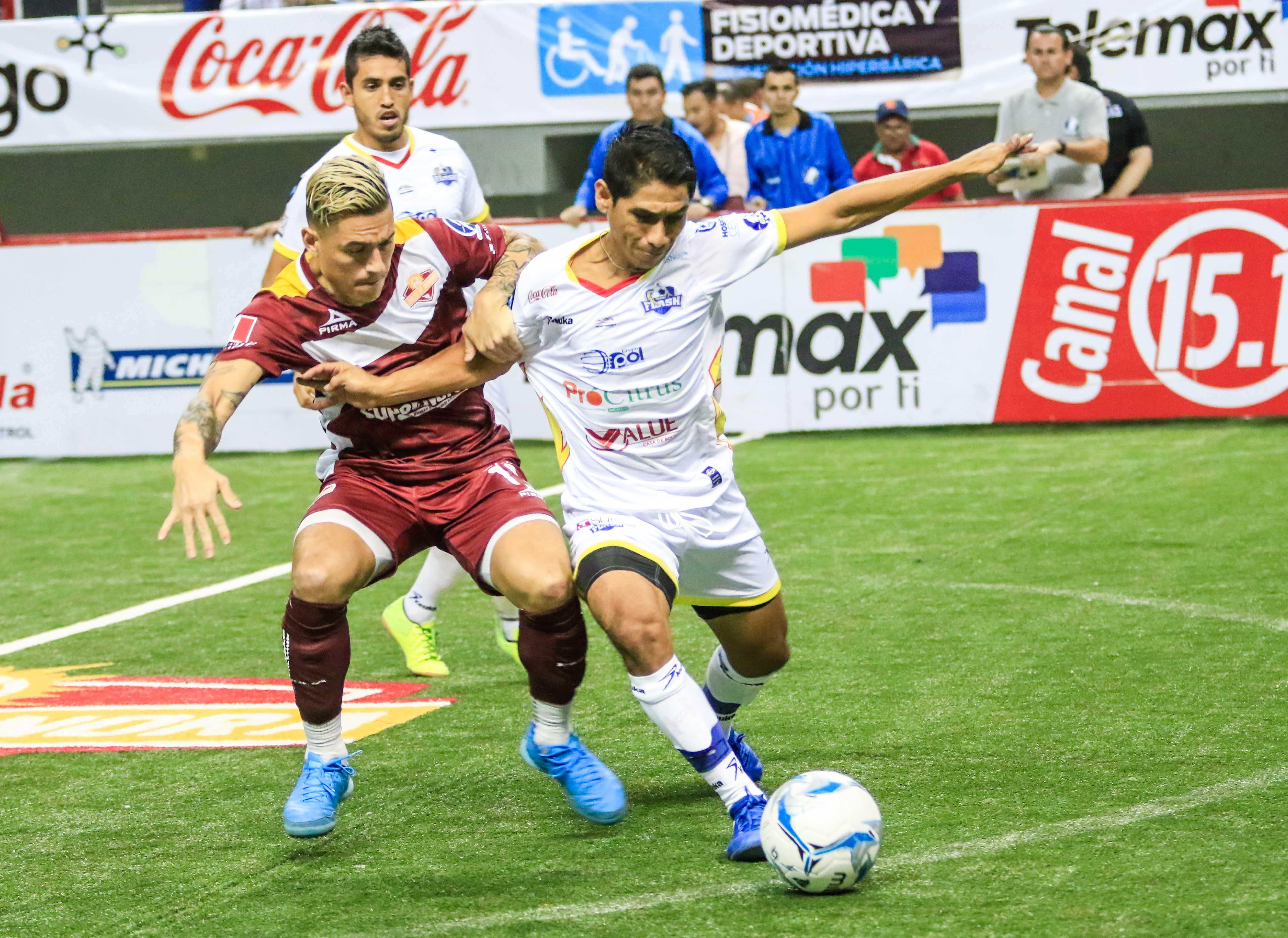 Flash vs Soles Soles de Sonora durante el partido de futbol de la Major Arena Soccer League 2017-2018 (MASL). 14Noviembre2017. (Foto: Luis Gutierrez /NortePhoto.com)