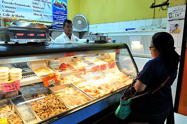 En aumento el consumo de mariscos