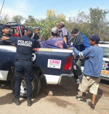Detienen a 10 personas drogadas en Las Lomas