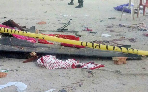 Habitantes de Jamiltepec lloran a sus víctimas tras caída de helicóptero