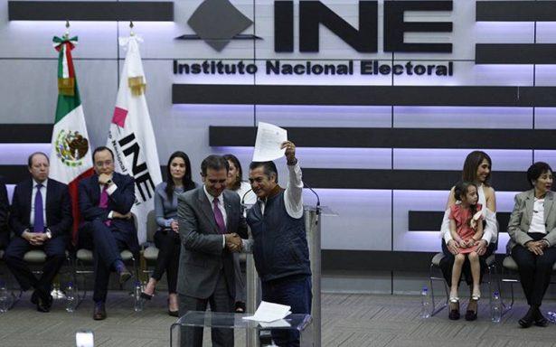 INE arranca procesos para investigar cómo obtuvo El Bronco 17 mdp