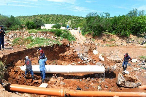 Debe restablecerse hoy servicio de agua en colonias del Norponiente