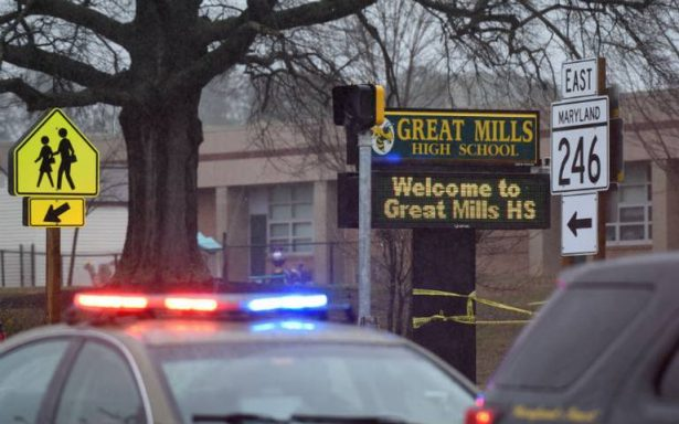 Atacante de escuela de Maryland muere tras tiroteo con agente