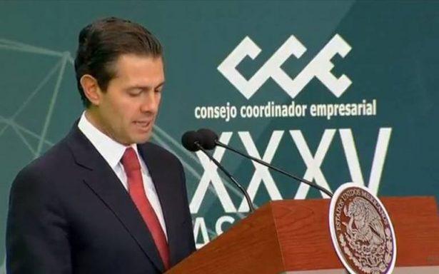 """""""En juego desarrollo del país y no continuidad de un gobierno"""", afirma EPN por elecciones"""