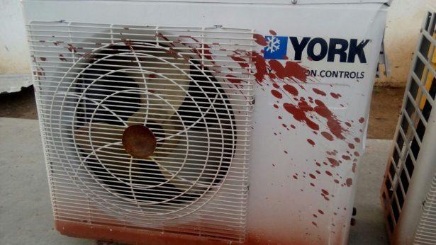 Detienen a joven que arrancaba refrigeraciones de una escuela