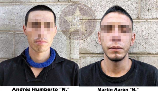 Detienen la AMIC a presuntos narcomenudistas