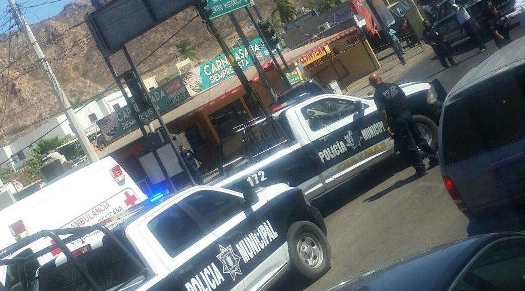 Asesinan a comandante de la Policía Municipal de Guaymas