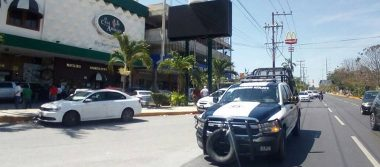 Sicarios protagonizan balacera en el centro de Cancún