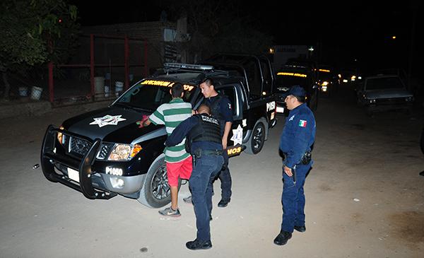 Detienen a 51 infractores en el Sur y el Poniente