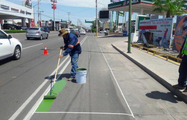Vigilará Tránsito municipal el uso correcto de ciclovías