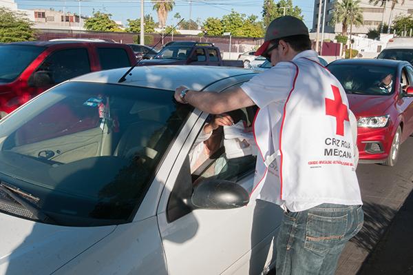 Lleva Cruz Roja 2.5 mdp en colecta