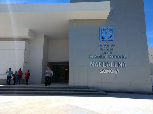 Entregan segunda etapa de Hospital General de Magdalena de Kino