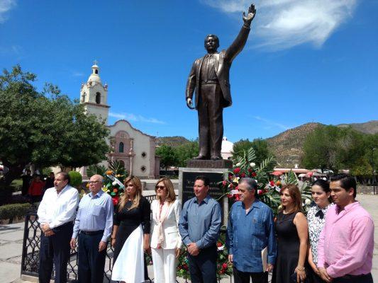 Encabeza Claudia Pavlovich guardia de honor en memoria luctuosa a Luis Donaldo Colosio