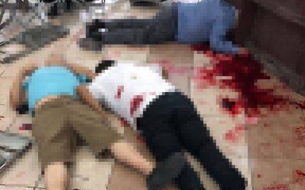 Seis muertos en balacera en un salón de fiestas