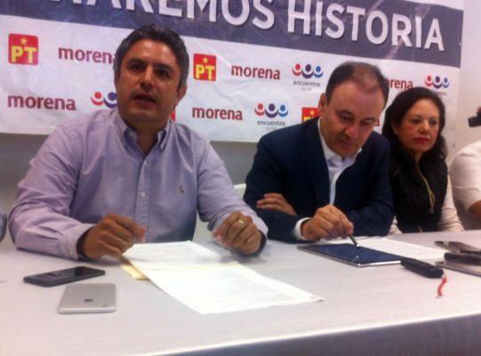 """[Video] Francisco Vásquez se une a Morena coalición """"Juntos haremos historia"""""""