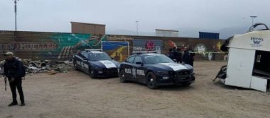 Policía Federal custodia línea fronteriza por visita de Donald Trump