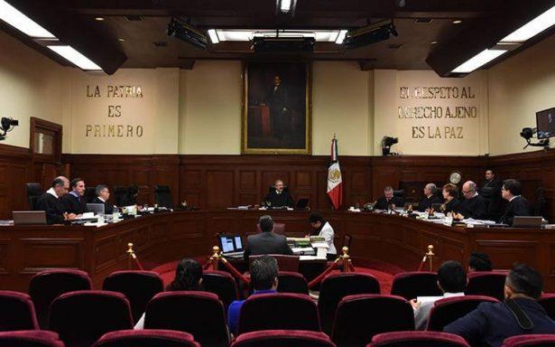 SCJN aprueba resguardo domiciliario, rechazan argumentos de la CNDH